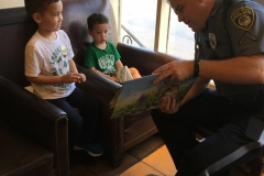 Read Along with a Cop at Starbucks Yardley