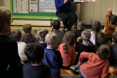 Reading to children William Penn Center Preschool