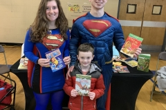 Superwoman and Superman show up at NAC awareness day!
